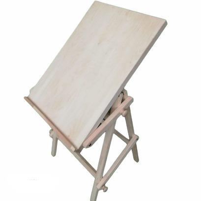 Koka molberts Wooden easel Деревянный мольберт