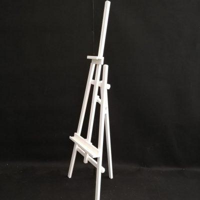 Balts koka molberts Белый деревянный мольберт White wooden easel