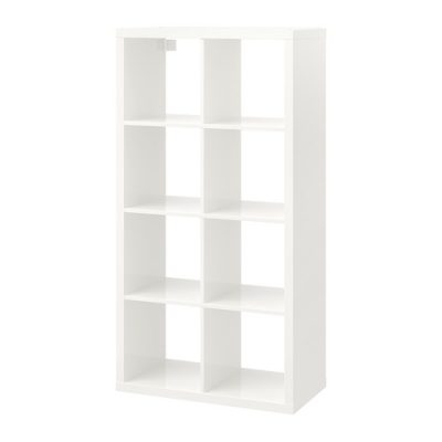 Balts plaukts Shelving unit 2x4 for rent Стеллаж 2x4
