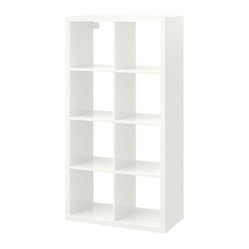 Balts plaukts Shelving unit 2x4 for rent Стеллаж 2x4