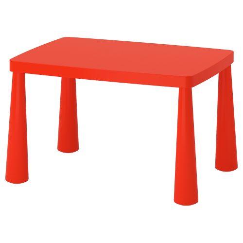 Sarkans bērnu galdiņš Красный детский столик Red children table noma, īre