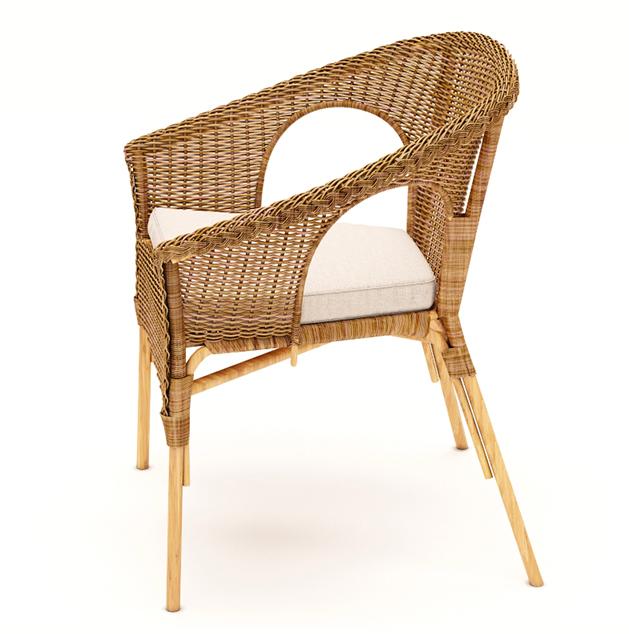 Koka atpūtas krēsls noma, koka mēbeļu noma, atpūtas zonas noma lounge Wooden armchair Деревянное кресло