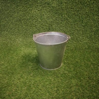 Metāla spainis Металлическое ведро Metal bucket