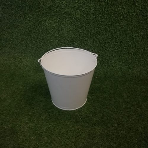 Balts spainis Белое ведро White bucket