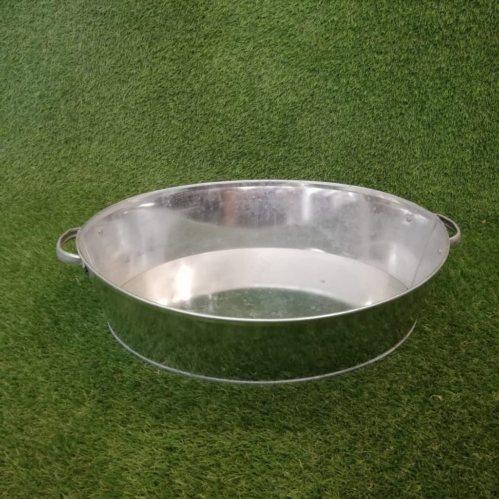 Metāla vanna (MTR02) Металлическая ванна Metal bath trauku noma