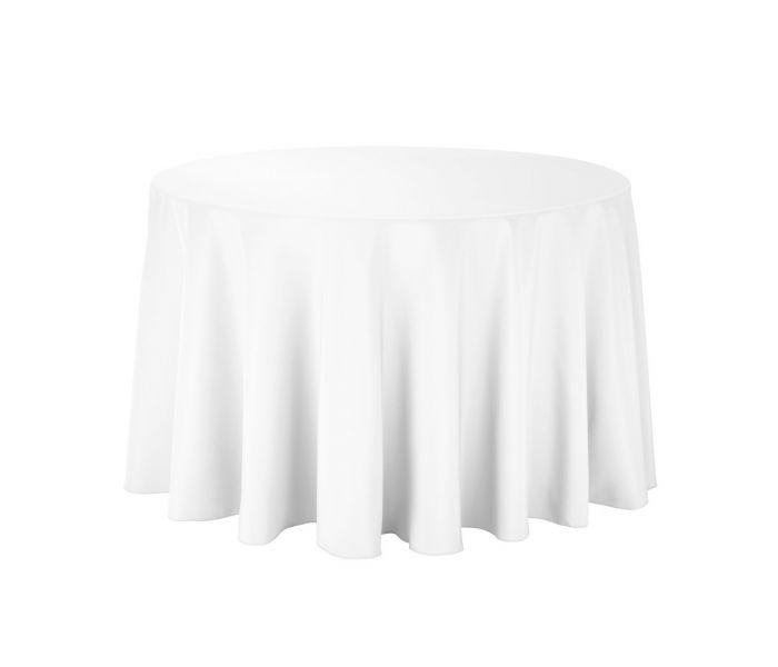 Balts galdauts D250 Белая скатерть White tablecloth