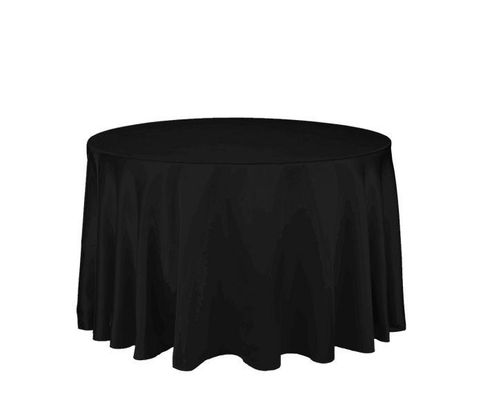 Melns galdauts D290 Черная скатерть Black tablecloth