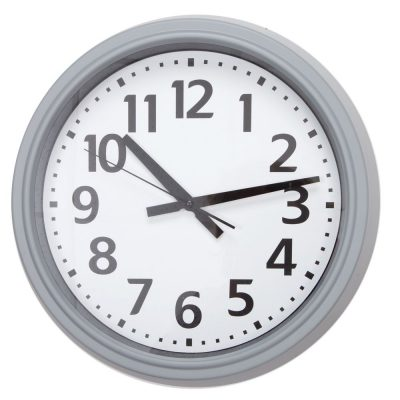 Pelēks sienas pulkstenis Серые настенные часы Gray wall clock