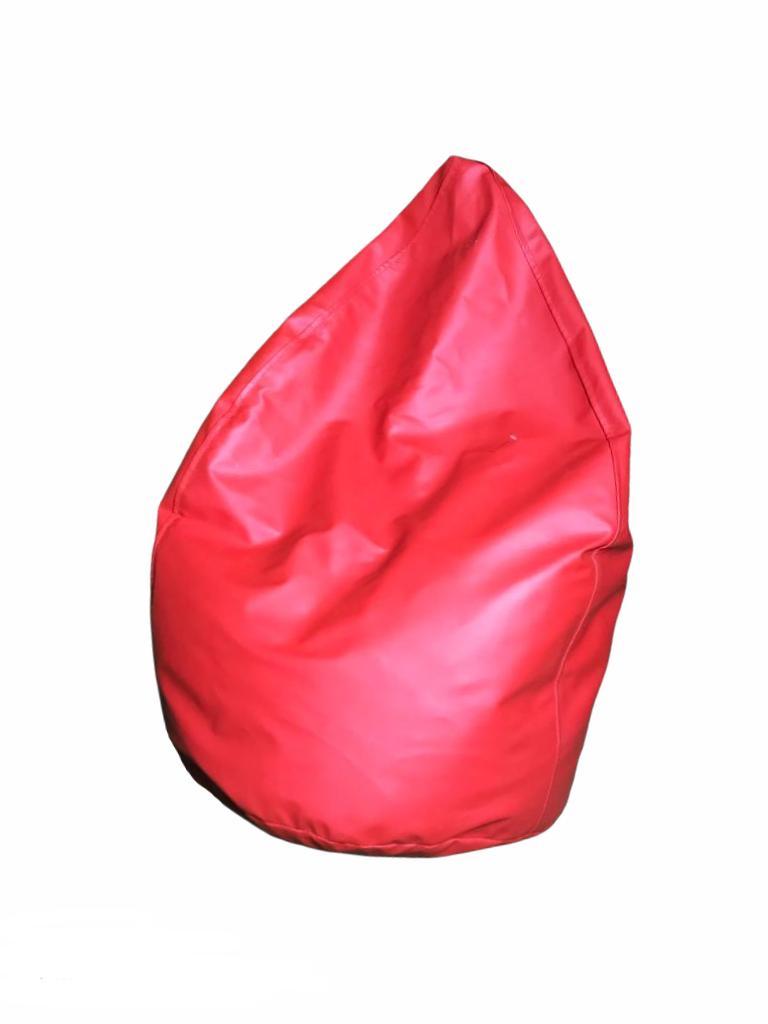 Sarkans sēžammaiss (PF10) Bean bag - red for rent Пуф - красный