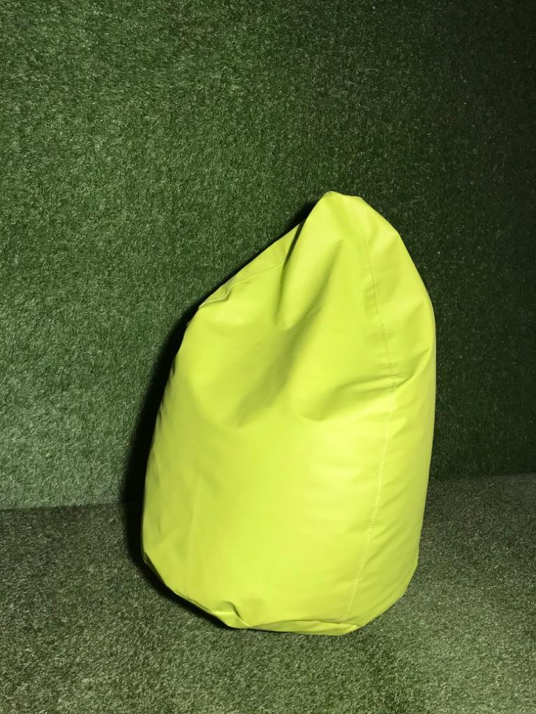 Koši zaļš sēžammaiss, Bean bag - bright green for rent, Пуф - ярко-зеленый