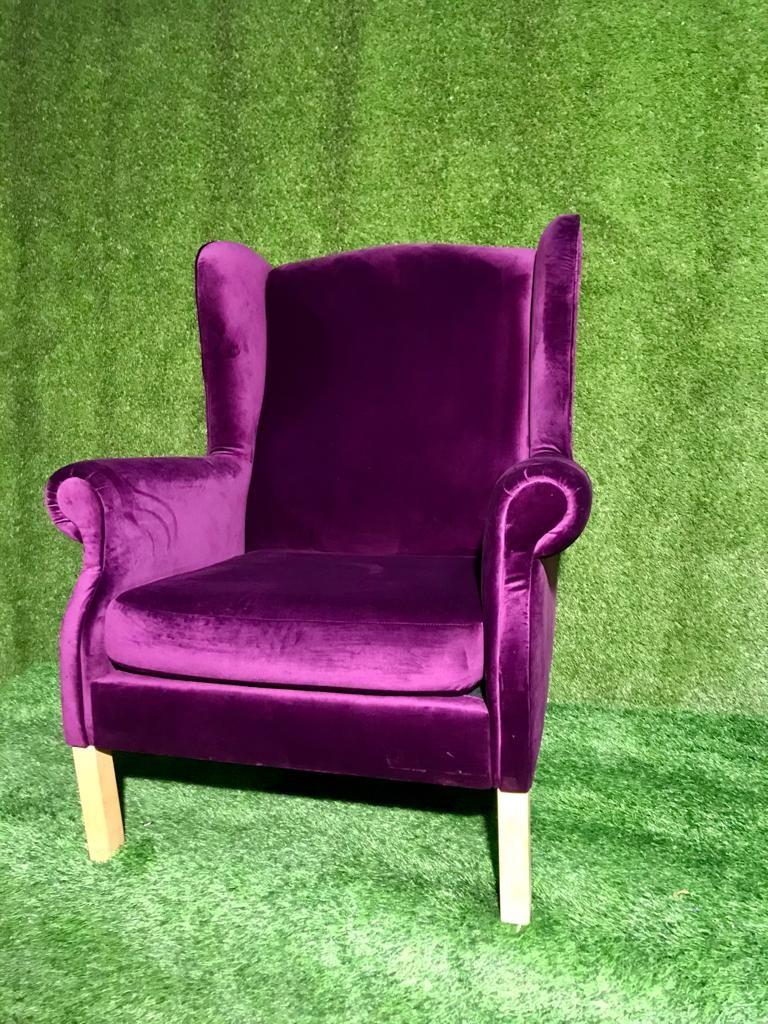 Violets atpūtas krēsls Purple armchair Фиолетовое кресло для отдыха