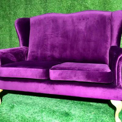 Violets dīvāns Purple sofa Фиолетовый диван