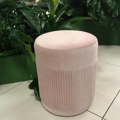 Rozā auduma pufs Мягкий пуфик - розовый Soft pouf - pink