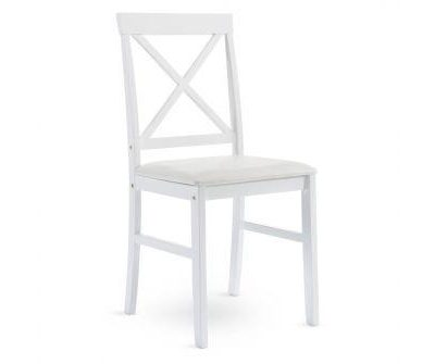 Balts krēsls White chair Белый стул