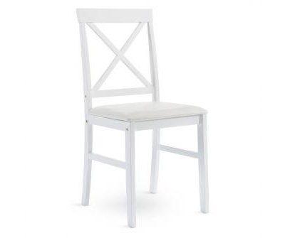 Balts krēsls White chair Белый стул