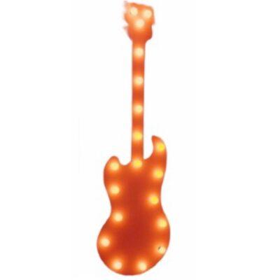 Ģitāra ar lampiņām Гитара с лампочками Guitar with lamps