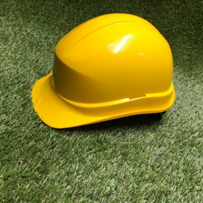 Ķivere Желтая каска Yellow helmet