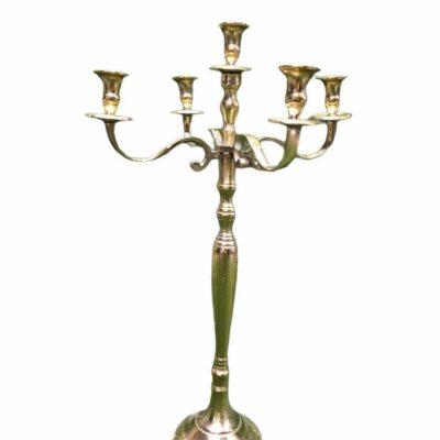 Zelta svečturis Золотой подсвечник Gold candlestick