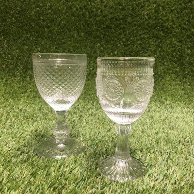 Stikla glāzes Стеклянные бокалы Glasses