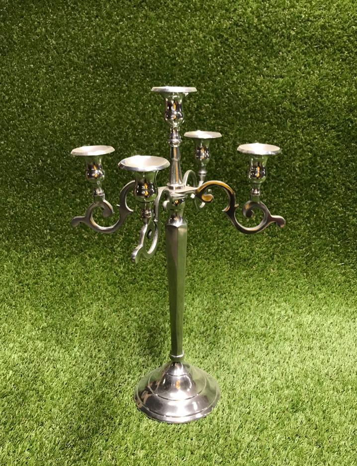 Sudraba svečturis Серебряный подсвечник Silver candlestick