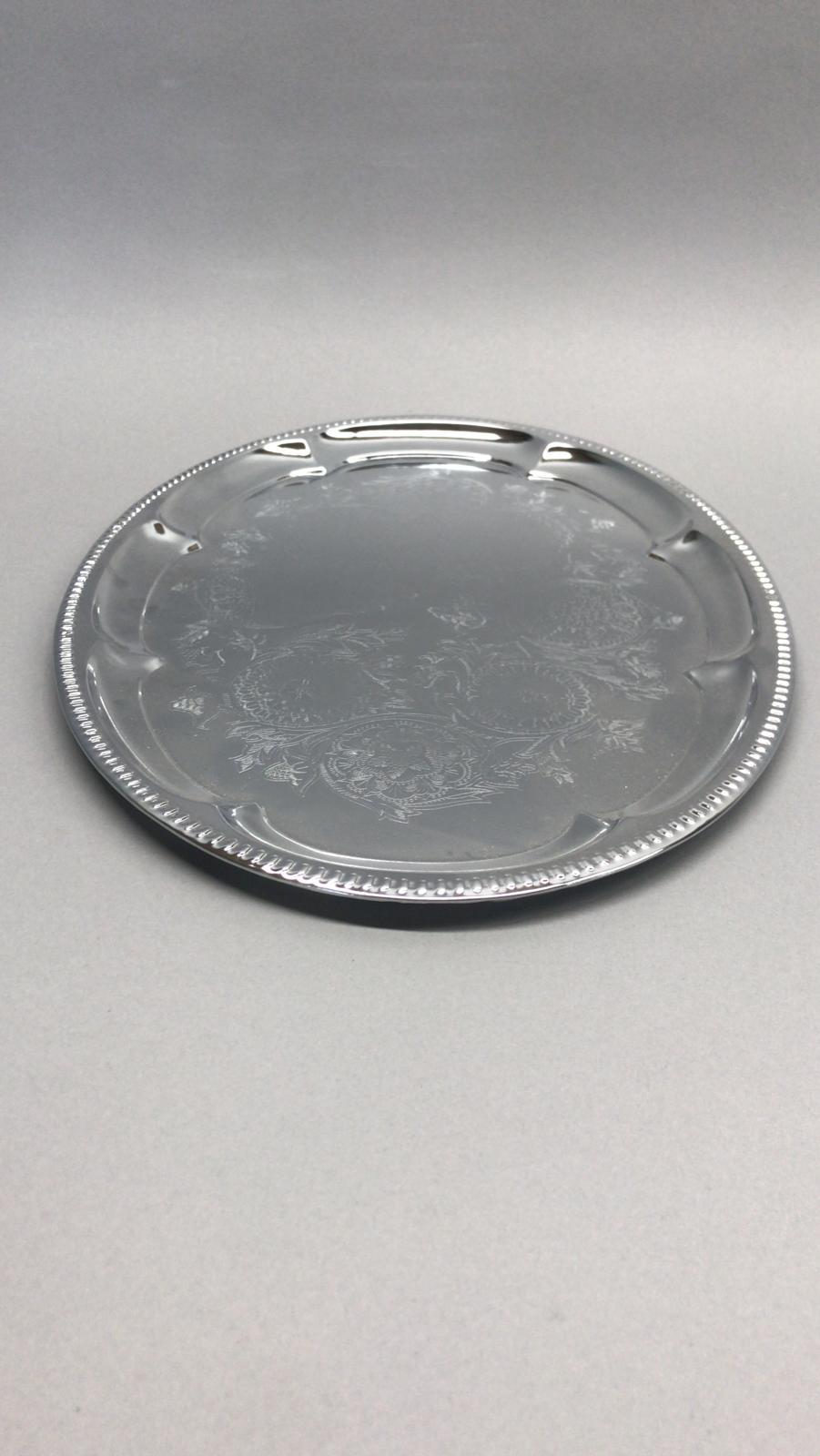 Ovāla sudraba paplāte Овальный серебряный поднос Oval silver tray