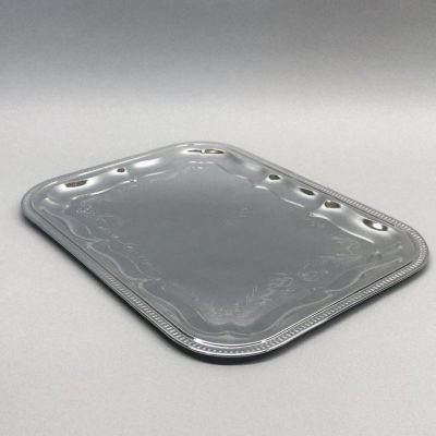 Sudraba paplāte Серебряный поднос Silver tray