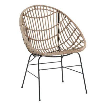 Koka atpūtas krēsls