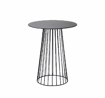 Melns kafijas galds