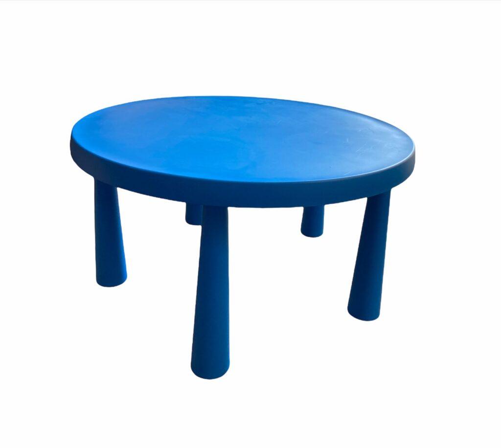 Apaļš bērnu galds